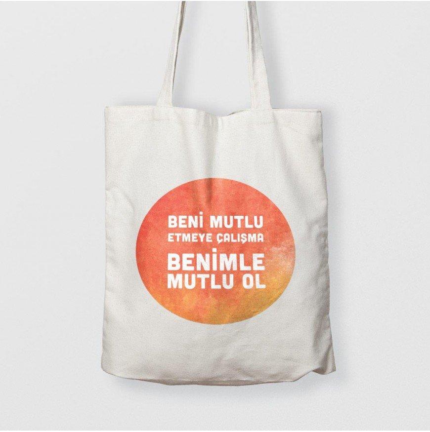 Benimle mutlu ol - çanta
