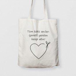 İşaretli yer - çanta