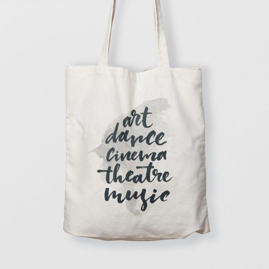 Art, dance, cinema, theatre, music - Çanta