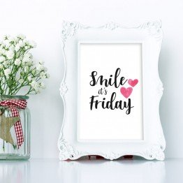 Smile its friday - poster