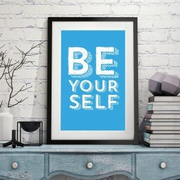 Be yourself- Poster