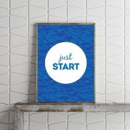 Just Start - Poster