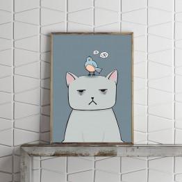 Depresif Kedi - Poster