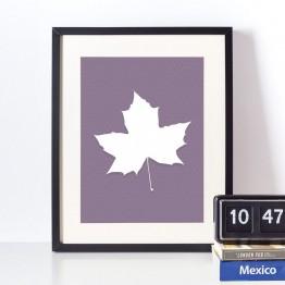 Akçaağaç yaprağı - poster