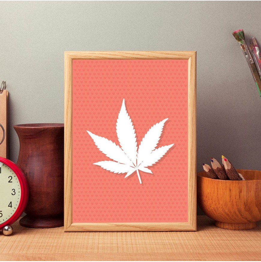 Japon akçaağaç yaprağı-poster