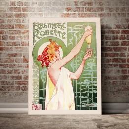 Absinthe Robette - Poster