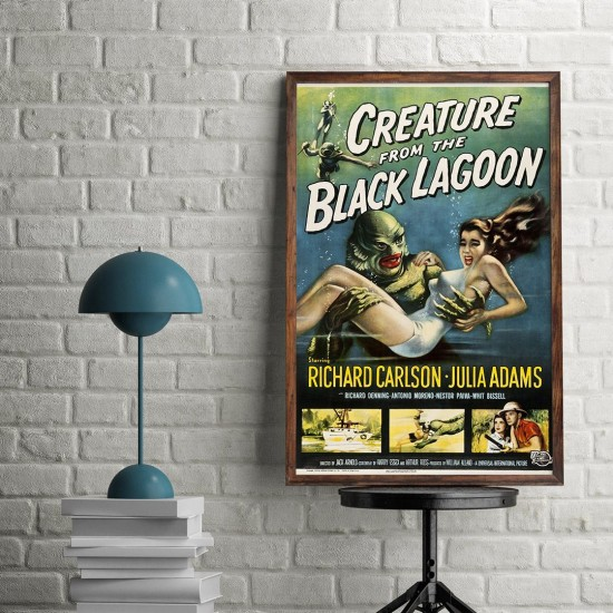 Creature from the black lagoon- poster