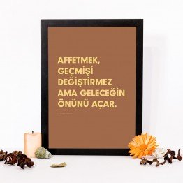 Affetmek, geçmişi değiştirmez ama - Poster