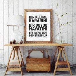 Bir insan seni değiştirebilir - Poster