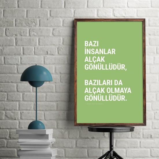 Bazı insanlar alçak gönüllüdür - Poster
