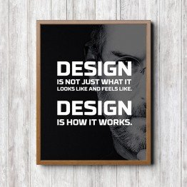 Design is how it works - Poster