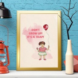 Don't grow up-poster