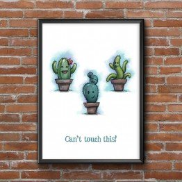 Can't touch this - Poster