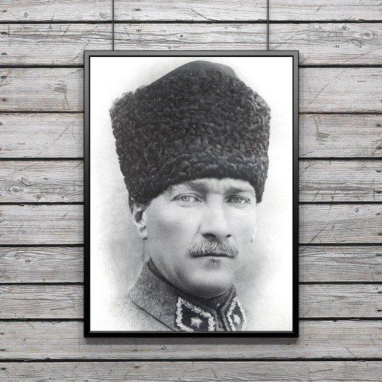 Mustafa Kemal Atatürk - Poster - Kalpaklı