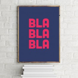 Bla Bla Bla - poster