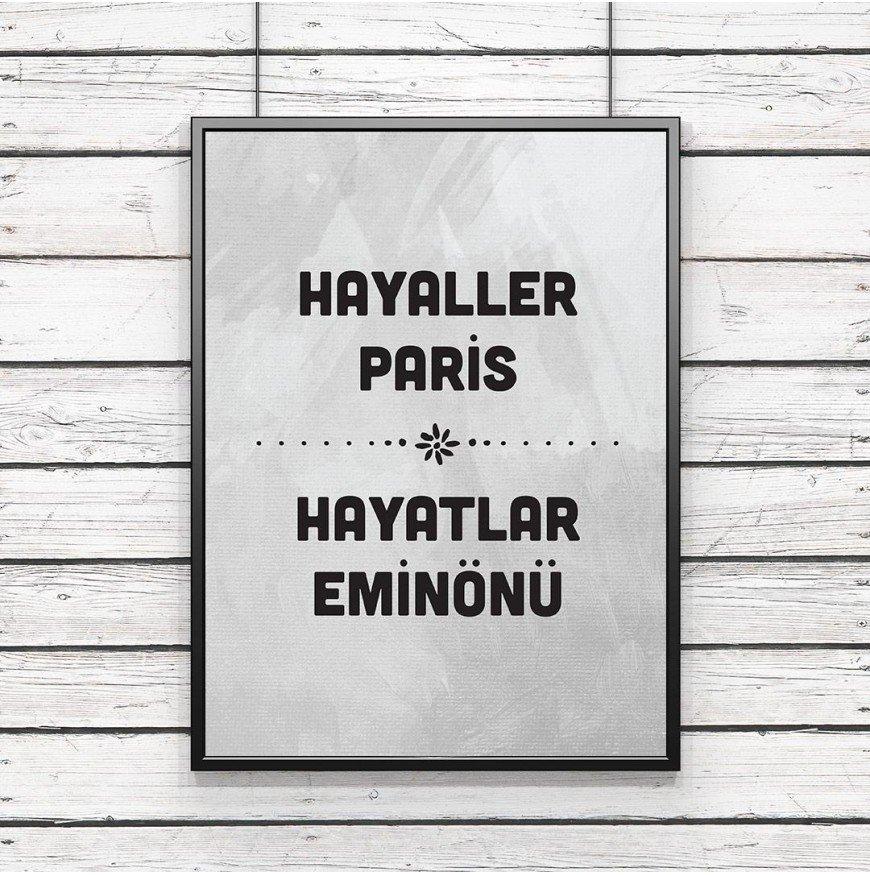 Hayaller Paris, hayatlar eminönü