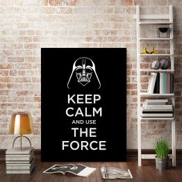Keep Calm And Use The Force- Star Wars -  Poster