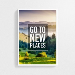 Go to New Places