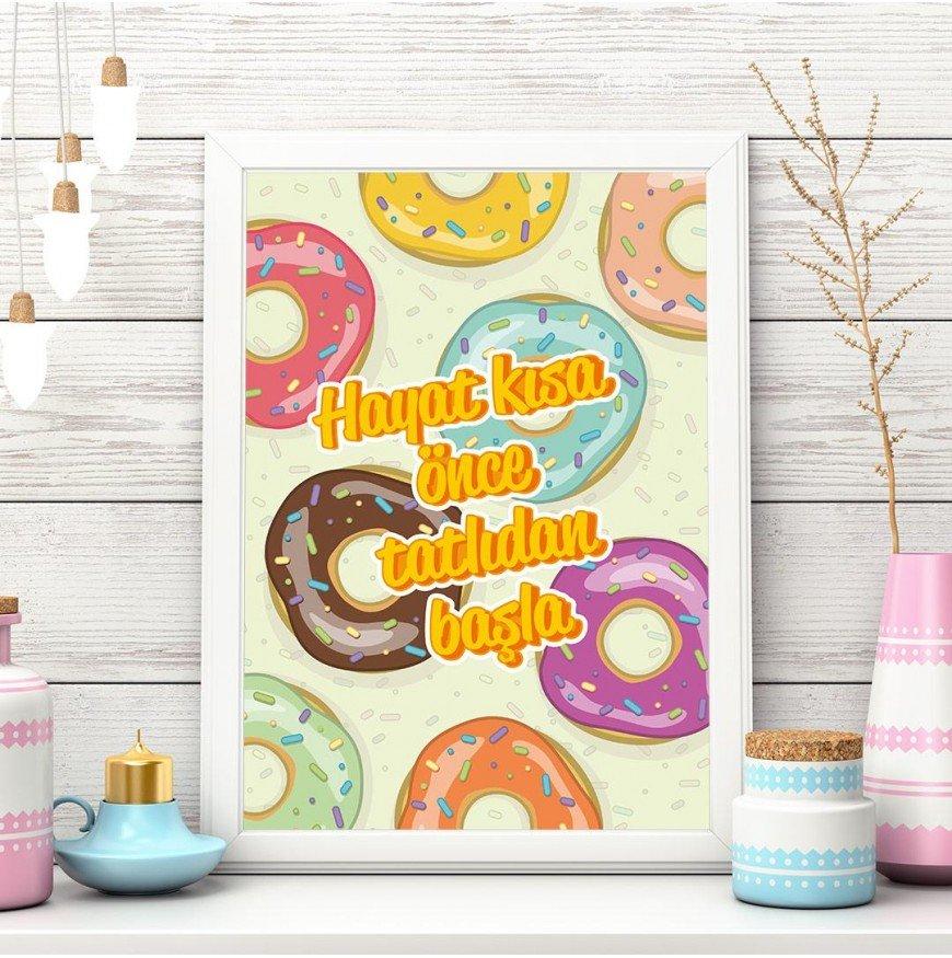 Hayat Kısa Önce Tatlıdan Başla - Poster