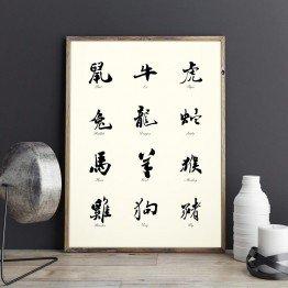Çin Burçları- poster