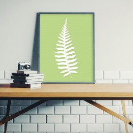 Aşk merdiveni- Eğrelti yaprağı- poster