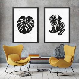 Protea ve Deve Tabanı - İkili Poster