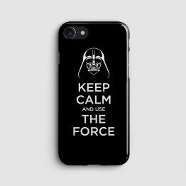 Keep Calm And Use The Force - Star Wars - Telefon Kılıfı