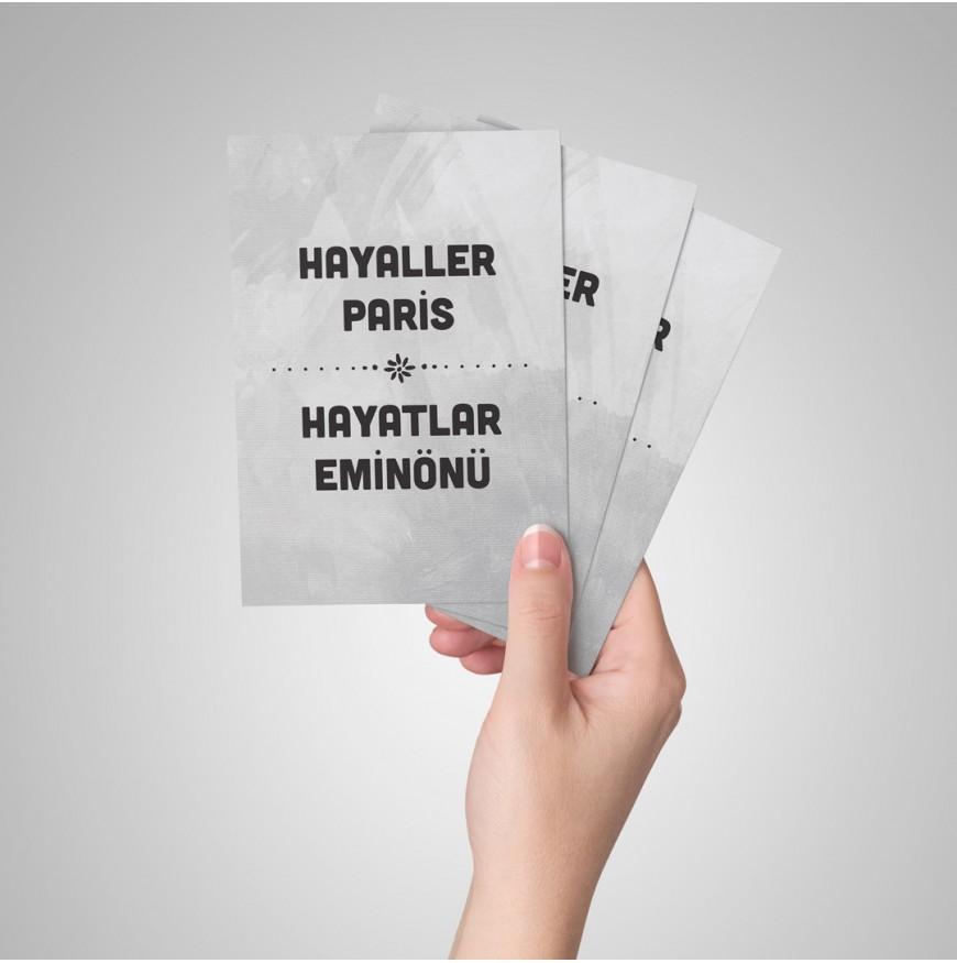 Hayaller Paris - Kartpostal