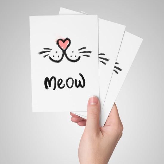 Meow - Kartpostal