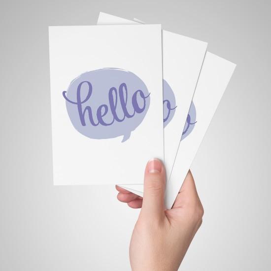 Hello - Kartpostal