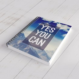 Yes You Can - defter