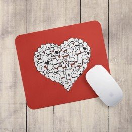 Ghost Heart - Mouse pad