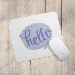 Hello - Mouse pad